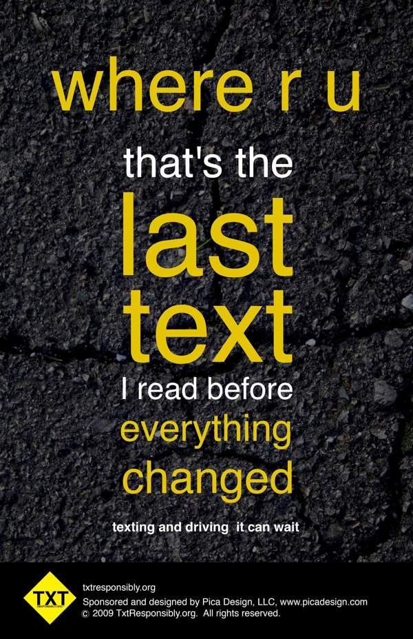 cause and effect essay about texting while driving Text messaging: the effects on our society messaging while driving is very dangerous do you believe that texting while driving is as bad as drinking and.